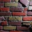 Dramatic brick wall background — Stock Photo