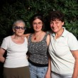 Stock Photo: Three generations family together