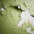 Old paint peeling from wall — Stock Photo