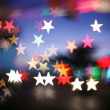 Background with star-shaped highlights. — Stock Photo