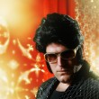 Elvis Presley impersonator — Stock Photo #32907515