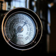Stock Photo: Vintage manometer