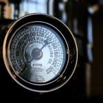 Vintage manometer — Stock Photo