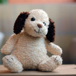 Stuffed Vintage Toy Dog — Foto Stock