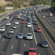 Stock Photo: Traffic on Hollywood 101 freeway