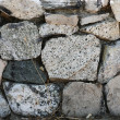 Stock Photo: Stone wall background texture
