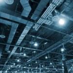 Huge industrial space — Stock Photo