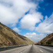Stock Photo: Freeway Trough Mountains