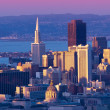 San Francisco cityscape — Stockfoto