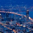 San Francisco view from Twin Peaks. — 图库照片