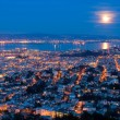 Full Moon Rising Over SFrancisco — Stock Photo #32909993