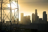 Downtown Los Angeles industrial view — Stock Photo