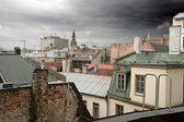 Old Riga rooftops — Stock Photo