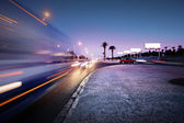 Traffic at Las Vegas Blvd., Las Vegas, USA. — Stock Photo