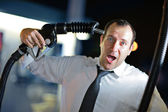 Fuel problem — Stock Photo