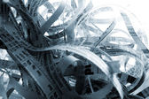 Shredded Paper — Stock Photo