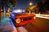 Vintage American pickup truck — Stock Photo
