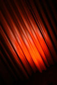 Diagonal abstract red curtain — Stock Photo