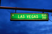 Las Vegas Blvd. sign — Stock Photo