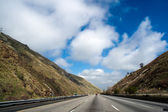 Freeway Trough Mountains — Stock Photo