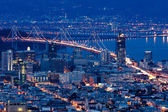 San Francisco view from Twin Peaks. — Stock Photo