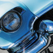 Vintage american car detail — Stock Photo