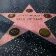 Star on the Hollywood Walk of Fame — Stock Photo