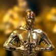Stock Photo: Oscar Statue