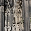 Stock Photo: Sculpture Cologne Cathedral