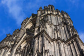 Front side of the Cologne Cathedral,Germany — Stock Photo