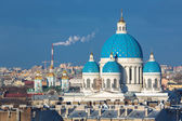 Panorama of St Petersburg — Stock Photo