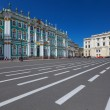 Winter Palace in Saint-Petersburg — Stock Photo