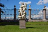 Sculptural group in the Summer Garden in St. Petersburg — Stock Photo