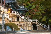 Bulguksa chrámu v jižní koreji — Stock fotografie