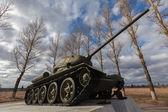 Soviet tank T34 — Stock Photo