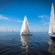 Yachts sailing regatta — Stock Photo #49699503