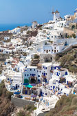 Village Oia of Cyclades island Santorini Greece — Stock Photo