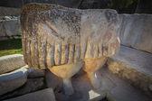 Statue of the Goddess of Fertility. Tarxien. Malta — Stock Photo