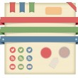 Vector Labels,Tags and Ribbons, Icons — Stock Photo #33112307