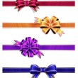 Colorful Ribbon with Bow Set — Stockfoto #34377783