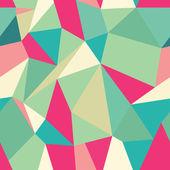 Seamless Polygonal Pattern, Background — Stock Vector
