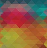 Triangle neon seamless background — Stok Vektör