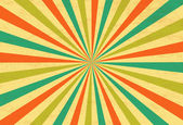 Sunburst Retro Textured Grunge Background — 图库矢量图片