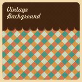Vintage Background Texture Top Menu — Cтоковый вектор