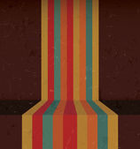 Abstract Vintage Rainbow Lines — Vetorial Stock