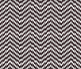 Vector Seamless Knitting Zigzag Pattern — Stock Vector