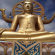 Big Buddha in Wat Phra Yai Temple, Koh Samui island, Thailand — Stock Photo