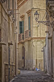 Old alley  in the old town of Gallipoli (Le) — Stock Photo