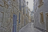 Old alley  in Lecce — Stock Photo