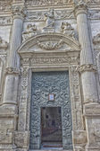 Church of St. Mary of Constantinople in Lecce — Stock Photo